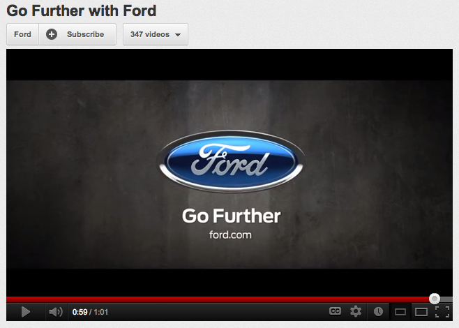 Go Further With Ford Is Grammatically Correct